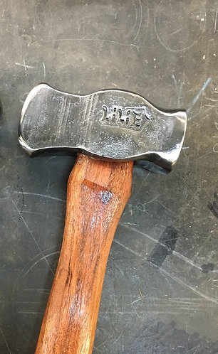 Hand forged Lilie Hammer - Straight Pein/ Square