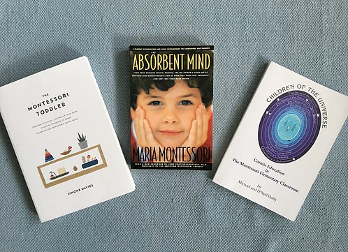 3 wisdom books of Montessori