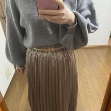 新しいスカートを買いました