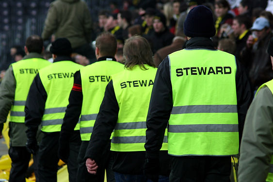 Supervising venue stewards