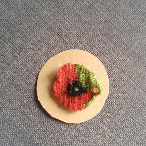Broche poppy