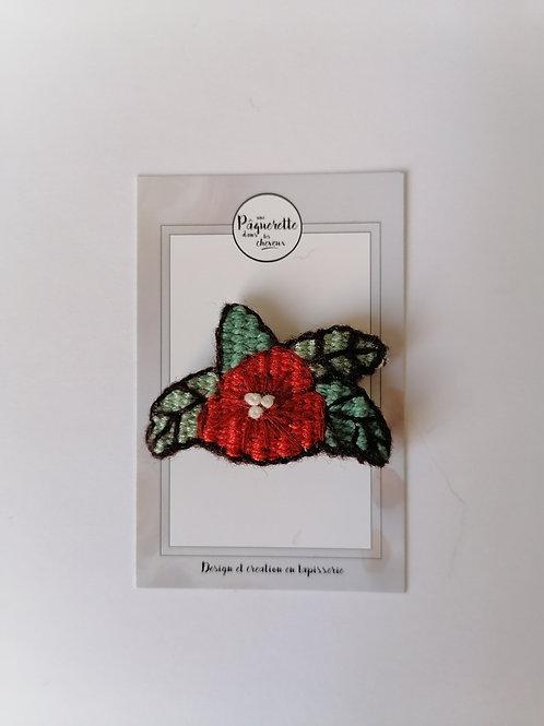 Broche tatoo 50's hibiscus