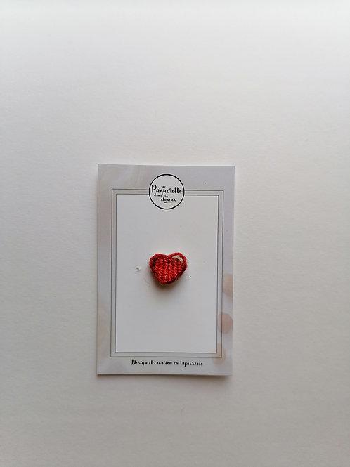 pin's petit coeur