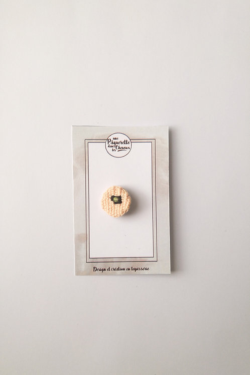 Pin's poppy Rose