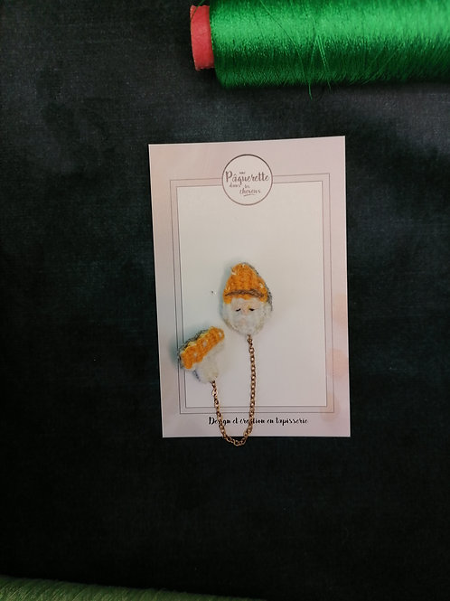 Double pin's gnome et champi