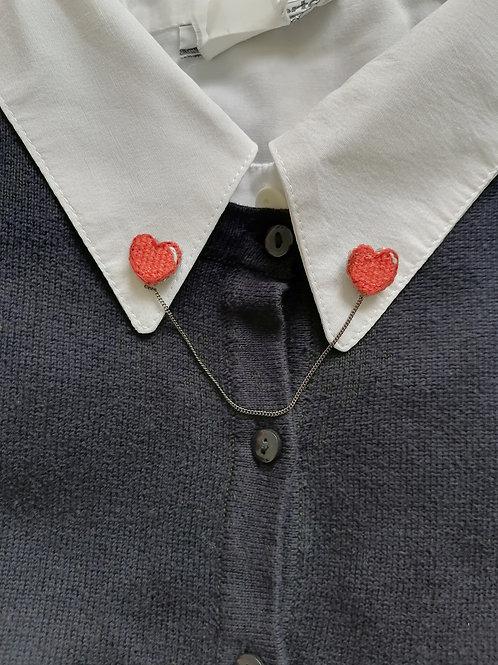 Double pin's cœur