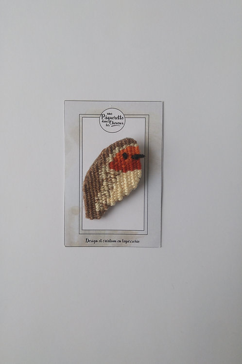 Broche rouge george