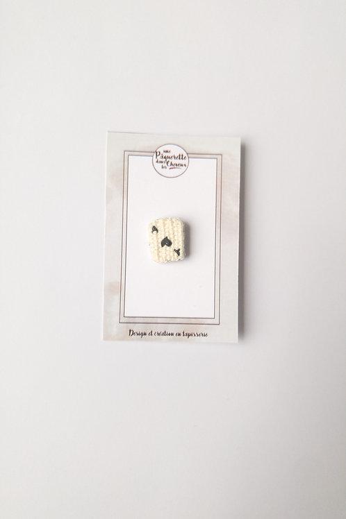 Pin's carte As de coeur