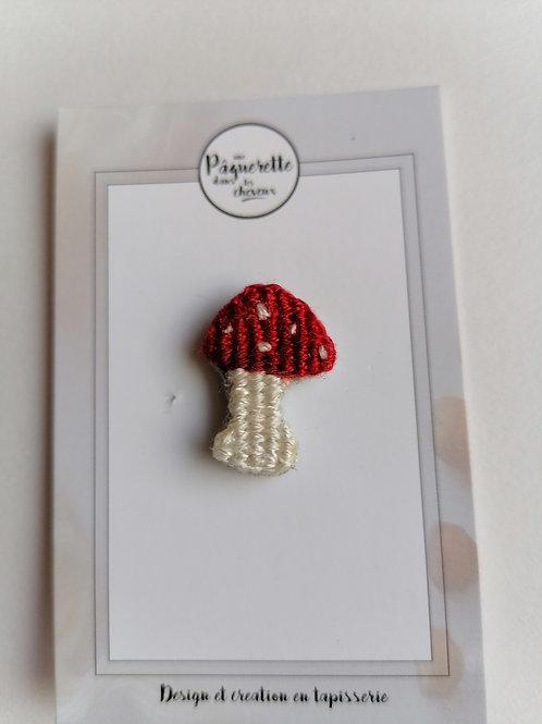 pin's grand champignon