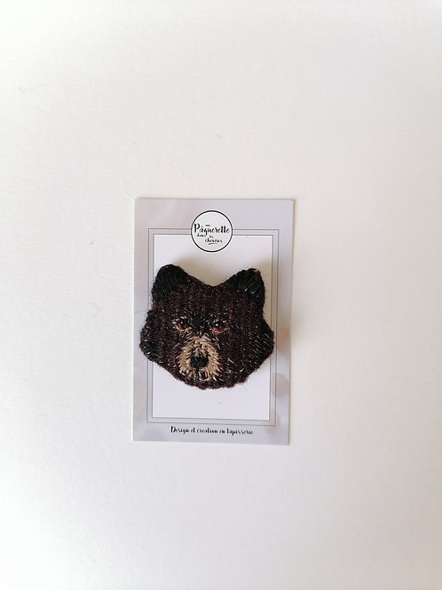 Broche papa ours