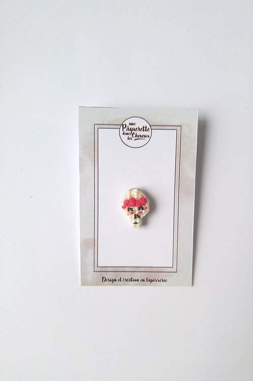 Pin's calaveras rose