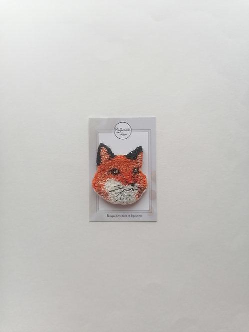 Broche Mr fox