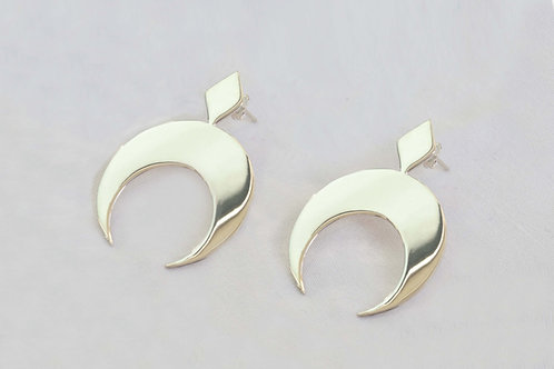 Boucles d'oreille Séléné
