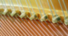 Струны пианино