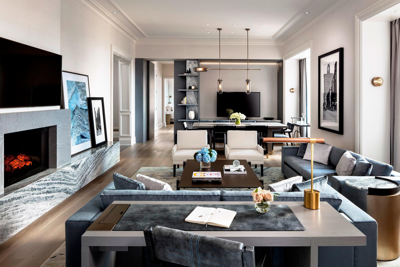 ST REGIS: SUITE LIVING ROOM