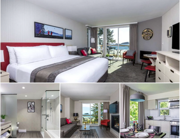 Enjoy the view at the Best Western Plus Tin Wis Resort in Tofino!