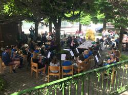 Kurhaus Garten Konzert