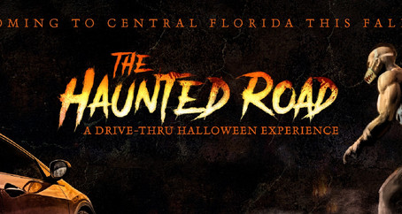 TICKETS ON SALE TOMORROW: THE HAUNTED ROAD, ORLANDO'S NEW IMMERSIVE DRIVE-THRU HALLOWEEN EXPERIENCE
