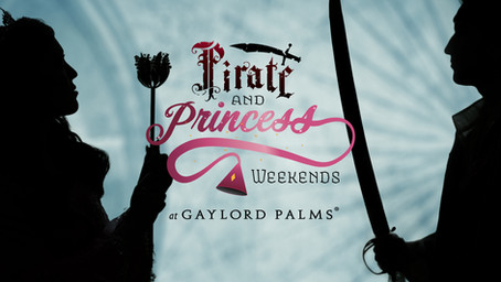PIRATE AND PRINCESS WEEKENDS RETURN TO GAYLORD PALMS RESORT IN EARLY 2021