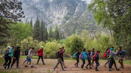 NatureBridge Launches New Yosemite Family Camp