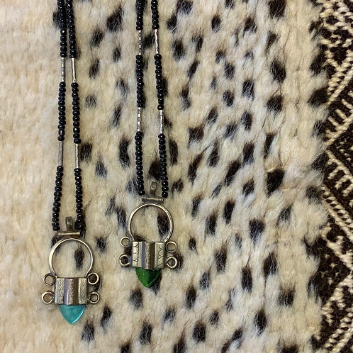 Tuareg In-gall cross necklace