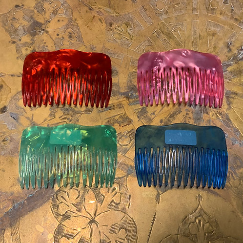 French Celluloid Hair Comb