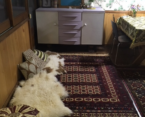 絨毯のある幸せ