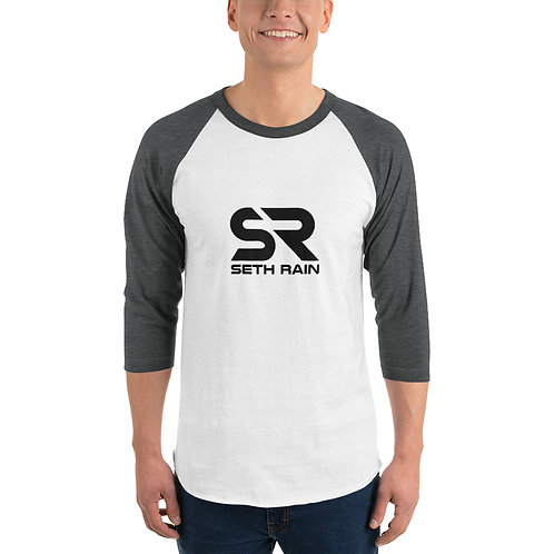 Seth Rain Logo - 3/4 sleeve raglan shirt