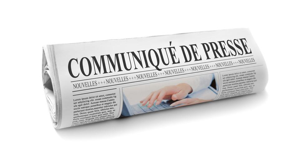 Communiqu de presse