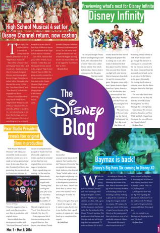 The Disney Blog (Pg. 1)