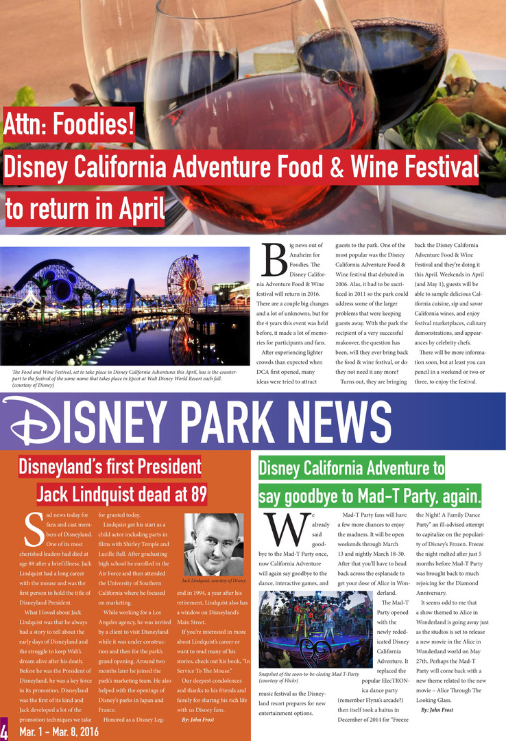The Disney Blog (Pg. 4)