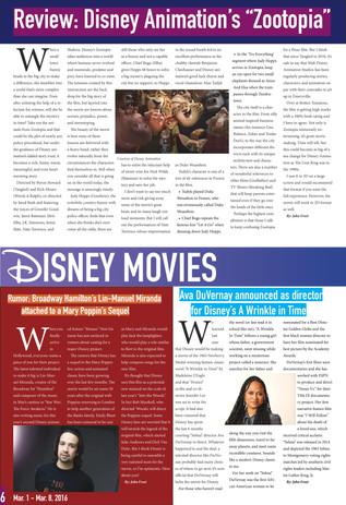 The Disney Blog (Pg. 6)