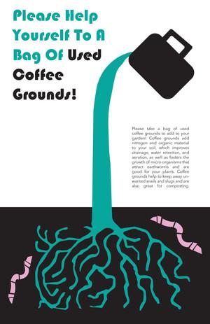 Coffee Ground Promotional