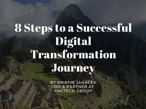8 Steps to a Successful Digital Transformation Journey. Pack your bags!