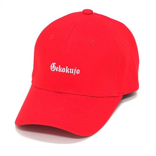 GKKJ 6 PANEL CAP [RED]