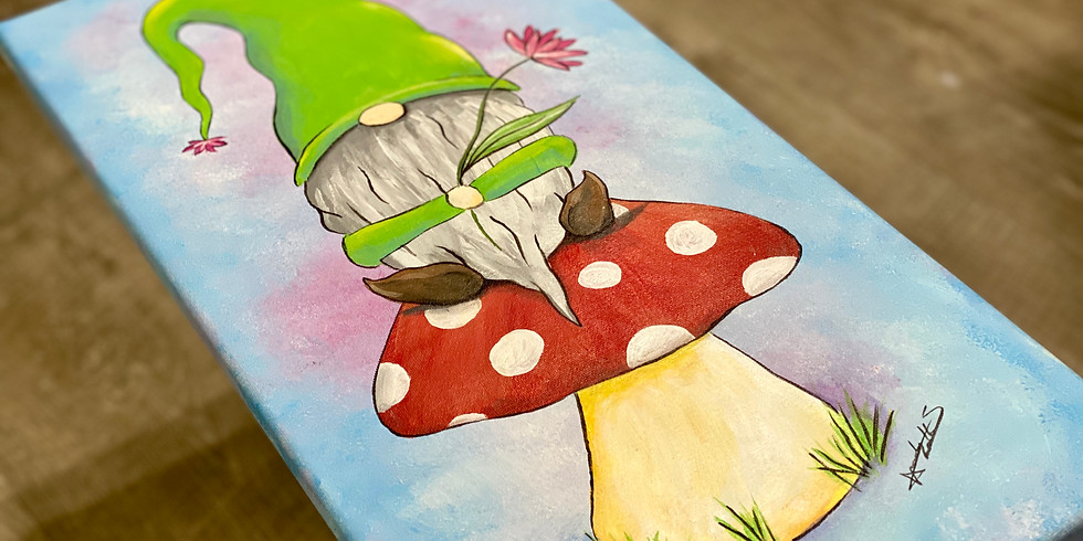 Spring Gnome Painting Event - Adults Only