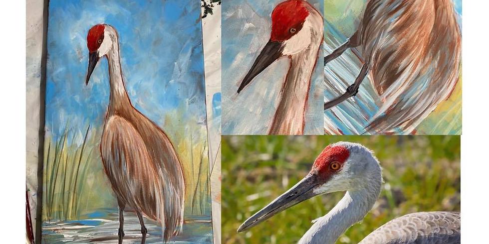 Great Salt Lake Audubon Virtual Paint Night