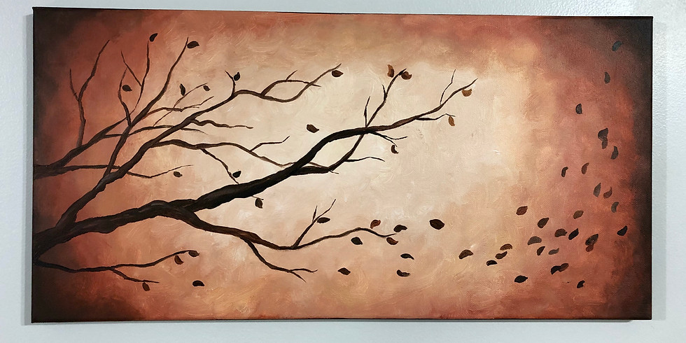 Fall Tree Painting Event - Adults Only