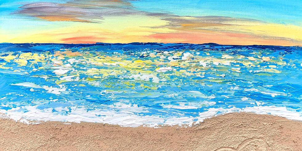 Beach Escape Paint Night
