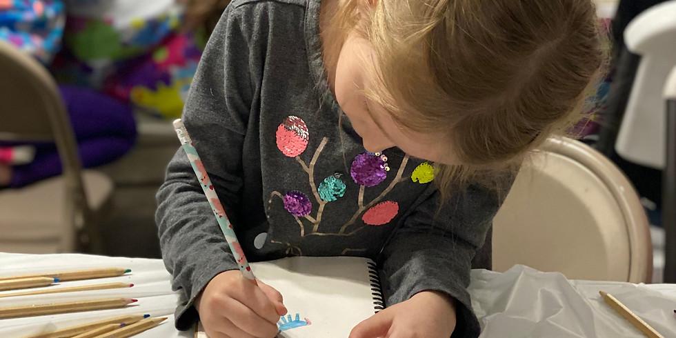 Virtual Drawing Class: 6-8 yr olds