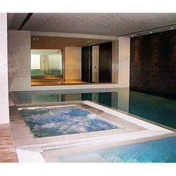 Piscina y Spa de interior con diseño exclusivo que fab