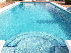 Ya hemos terminado de lechear la piscina de nuestro cliente