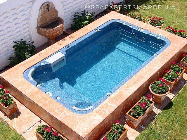 Instalación de un SwimSpa encas