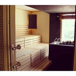 Sauna de estilo Finlandés moderna d