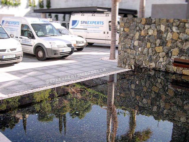 construcción de lago y muro con cascada de diseño exclusivo para nuestro c