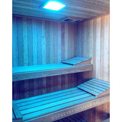 Sauna de diseño moderno c