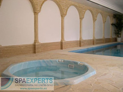 Proyecto de instalación de spa octogo