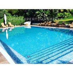 Tenemos lista la piscina de rebosadero de nuestro cliente para est