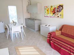 Residenza Tamerice: Zona Pranzo