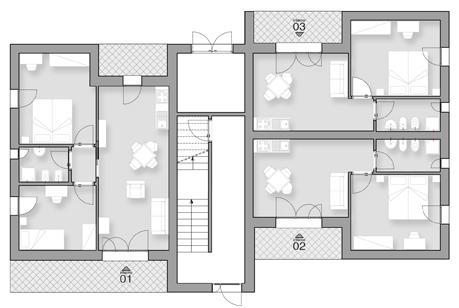 Residenza Tamerice Piano Terra